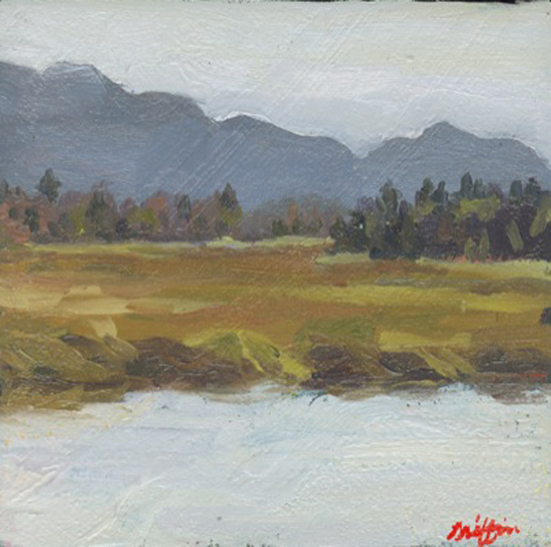 Bass Harbor Marsh :: Artwork by Patricia A. Griffin