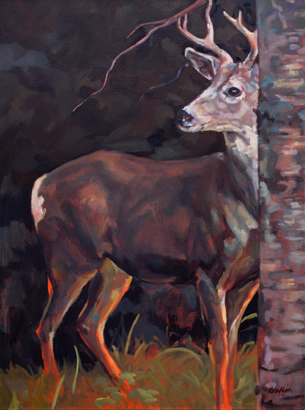 Buck at Sullivan :: Artwork by Patricia A. Griffin