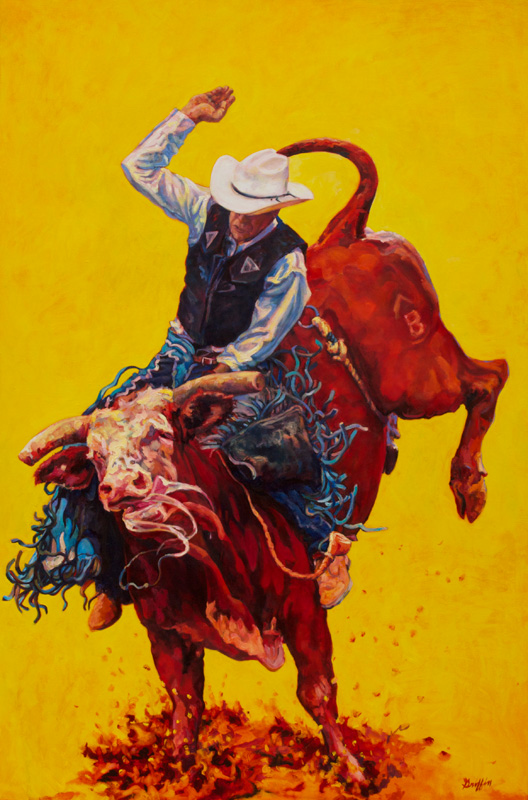 Bull Market :: Artwork by Patricia A. Griffin