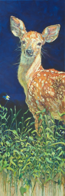 Daisy :: Artwork by Patricia A. Griffin