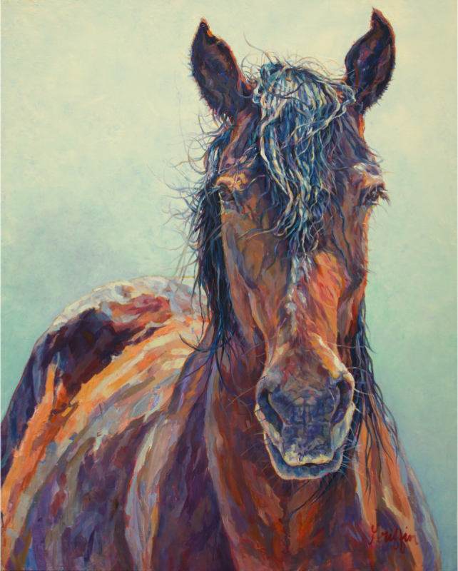 'Freya' Painting from Patricia Griffin