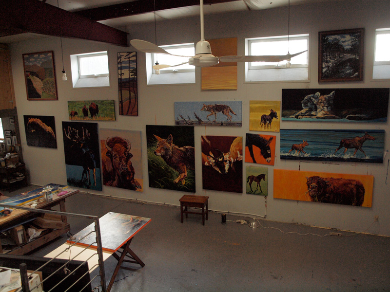 Studio Shot :: Artwork by Patricia A. Griffin