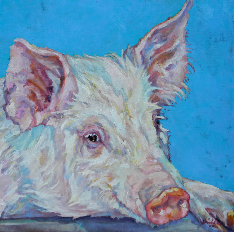 Pork Chop :: Artwork by Patricia A. Griffin