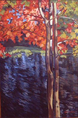 Swamp Maple :: Artwork by Patricia A. Griffin