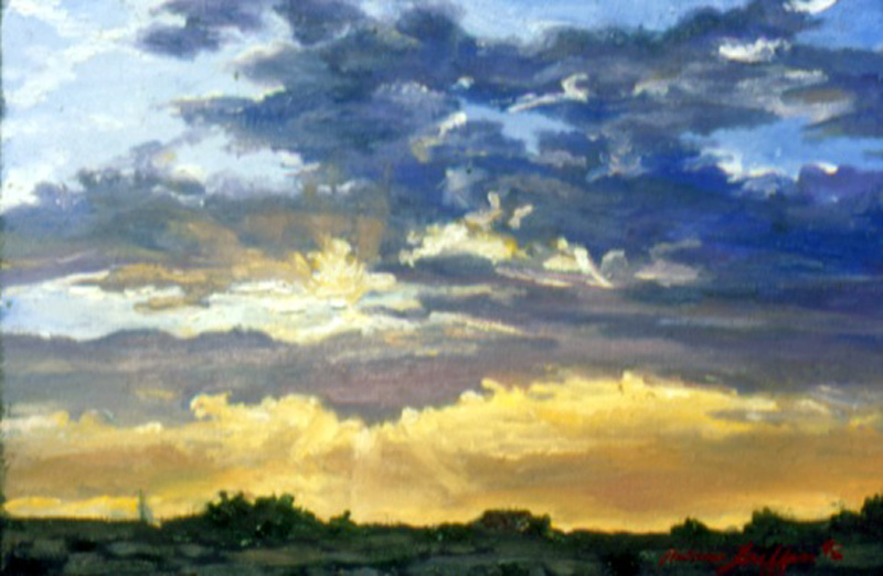 Texas Sunrise :: Artwork by Patricia A. Griffin